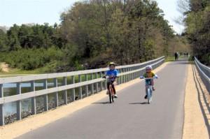 CARE Kids biking