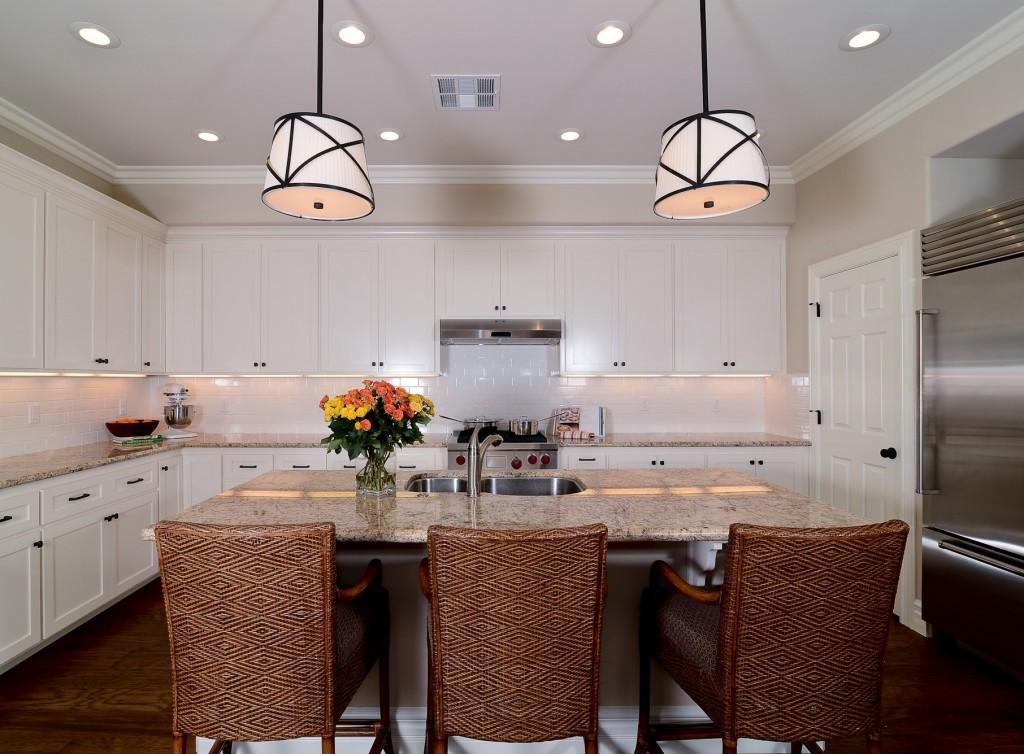 White kitchen vacation rental